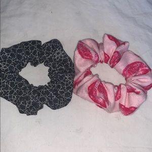 2 PC Custom Scrunchie Set
